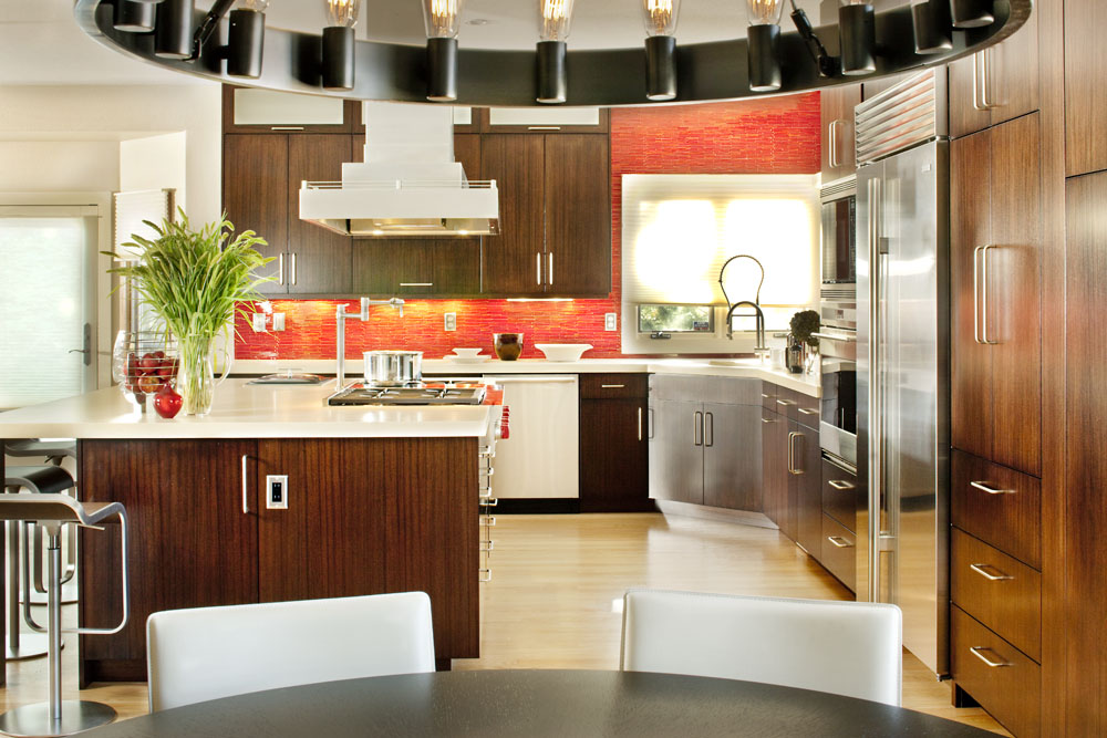 Beau Tamarron   Custom Contemporary Kitchen Design